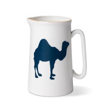 Camel 1 Pint Jug With Gold Rim