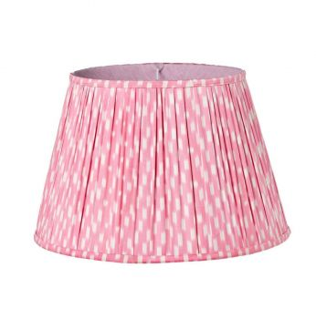 Pink and cream lampshade melodi horne