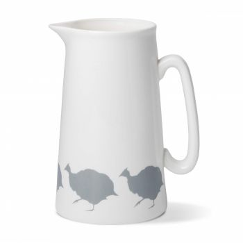 Guinea Fowl China 2 Pint Jug