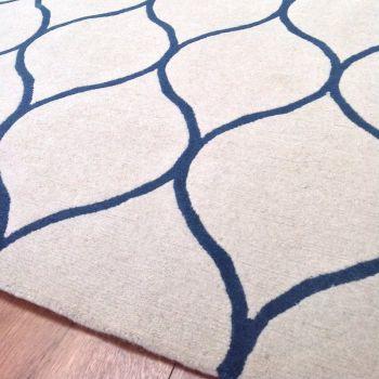Drops Handwoven New Zealand Wool Rug