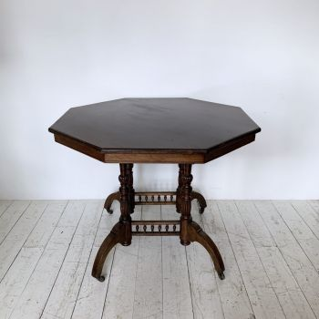 20th Century Octagonal Dining Table