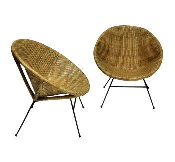 A Petite Black Lacquered Corner Bobbin Chair