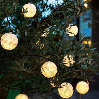 LED Solar Lantern Chain Outdoor Lighting