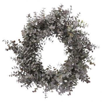 Faux Eucalyptus Christmas Wreath