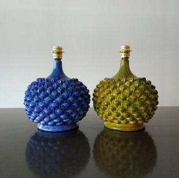 Handmade Ceramic Cipolla Lamp