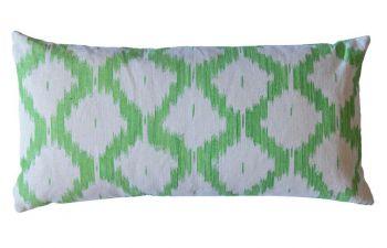 Apple Green Mallorcan Cushion