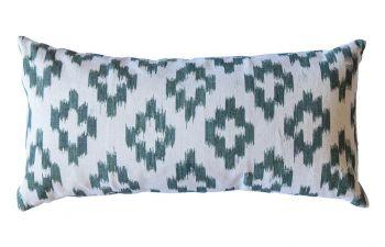 Oak Green Mallorcan Cushion