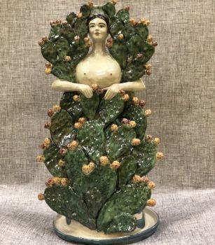 lion spanish ceramic candle holders agata treasures