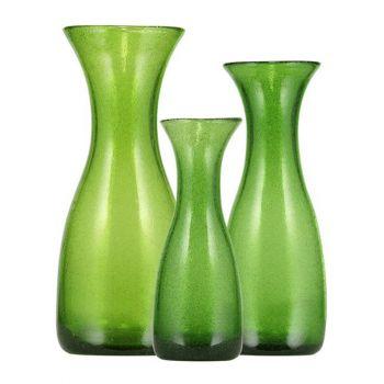 Apple Green Handmade Glass Carafe