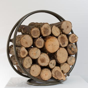 'The Ashford' Log Holder, Fireside, Accessories, Steel Frame