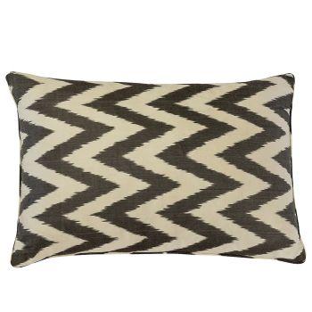 Ava Silk Ikat Cushion