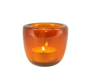 orange tea light British colour standard