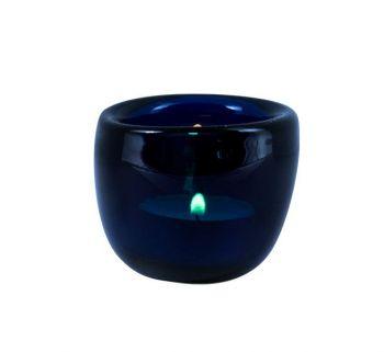 Handmade Tea Light Holders in Mineral Blue