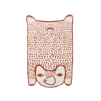 Bear Cotton Mini Blanket