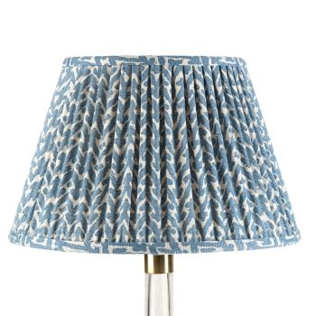 Bespoke Rabanna Lampshade in Blue
