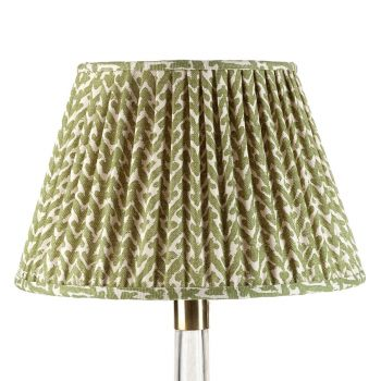 Bespoke Rabanna Lampshade in Green