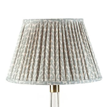 Bespoke Rabanna Lampshade in Light Blue