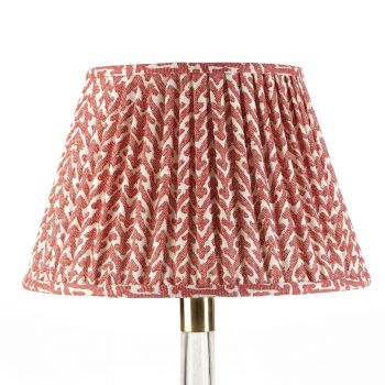 Bespoke Rabanna Lampshade in Red