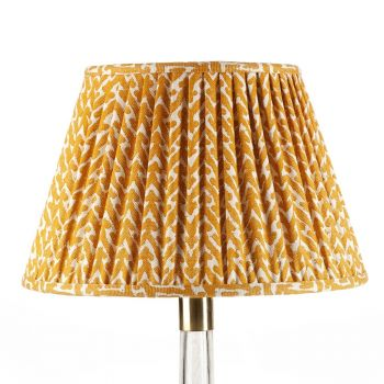 Bespoke Rabanna Lampshade in Yellow