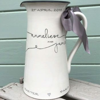 Bespoke Wedding Jugs