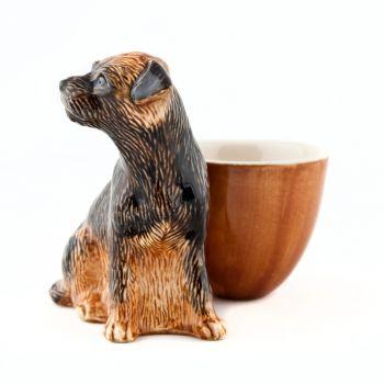 Koala Face Egg Cup Quail Ceramics