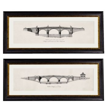 C.1737 Architectural Elevations of Bridges James Paine