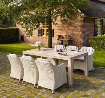 Solid Oak Garden DiningTable