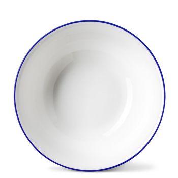 Rainbow Dinner Bowl in Lapis Lazuli