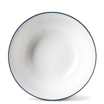 Rainbow Dinner Bowl in Marine Blue
