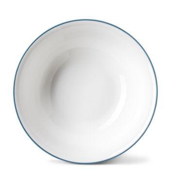 Rainbow Dinner Bowl in Teal