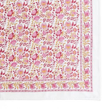 Indian Style GN Jal Tablecloth in Red