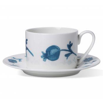 Roseship Coffee Cup & Saucer