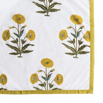 Vibrant Poppy Alfresco Tablecloth