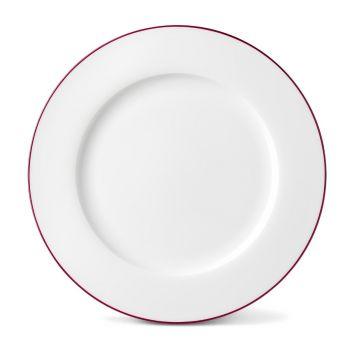 Rainbow Dinner Plate in Cerise Pink