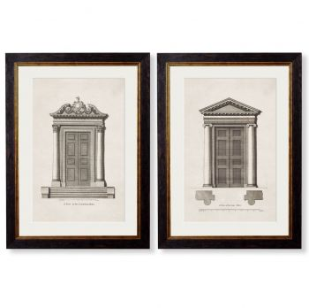 C. 1756 Architectural Studies of Doors