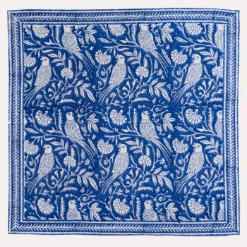Parrot Napkins in Blue