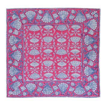 Lotus Jal Napkins in Pink