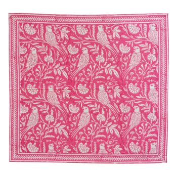 Parrot Napkins in Pink