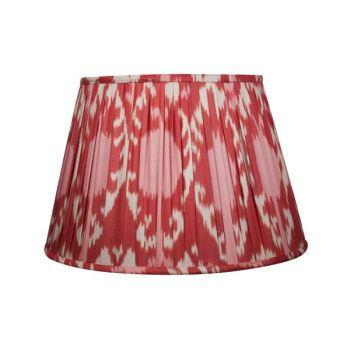 Pink, red and cream ikat lampshade melodi horne