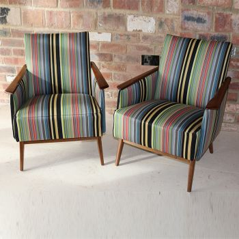 Pairs of 1960s Easy Armchairs