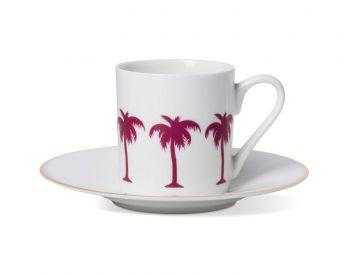flamingo expresso cup and saucer alice peto