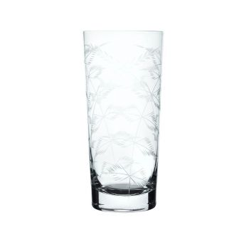 The Vintage List Fern Crystal Highball Glass