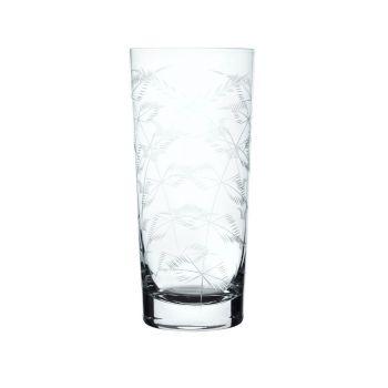 The Vintage List Fern Crystal Highball Glass