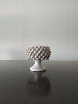 pine cone vase agata treasures white