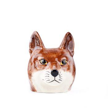 Fox Face Egg Cup Quail Ceramics