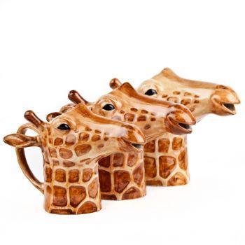 Giraffe Jug Quail Ceramics