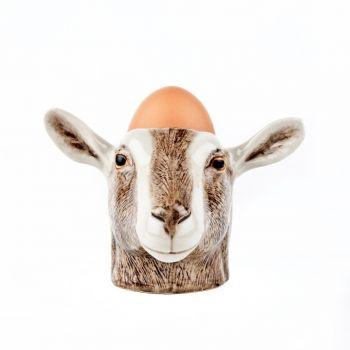 Goat Face Egg Cup Quail Ceramics