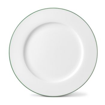 Rainbow Dinner Plate in Jungle Green