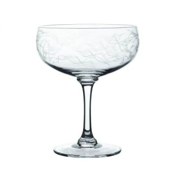 Fern Crystal cocktail glass the vintage list