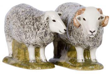 Herdwick Sheep Salt and Pepper Quail Ceramics